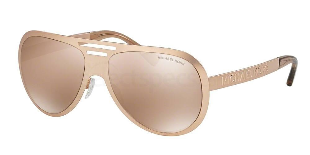 rose gold mirror sunglasses designer michael kors