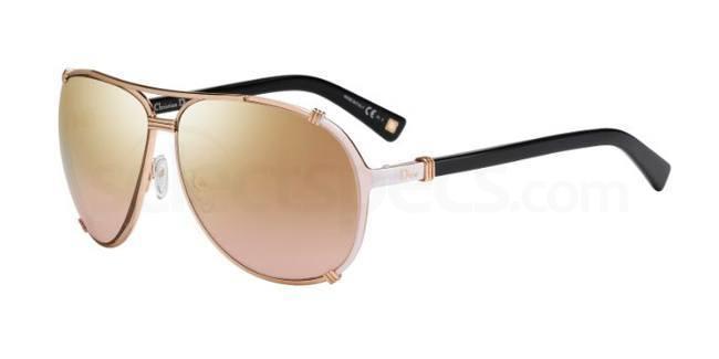 rose gold sunglasses dior