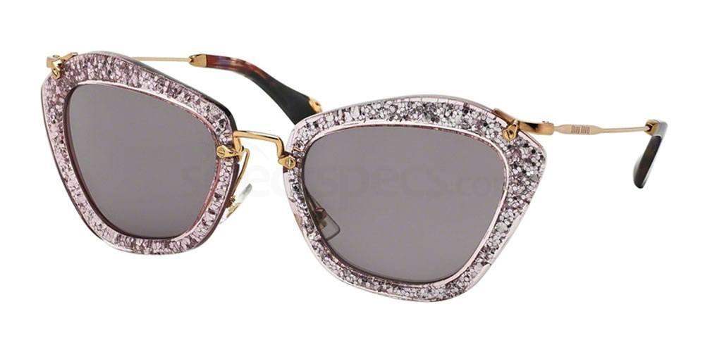 Glitter sunglasses Miu Miu