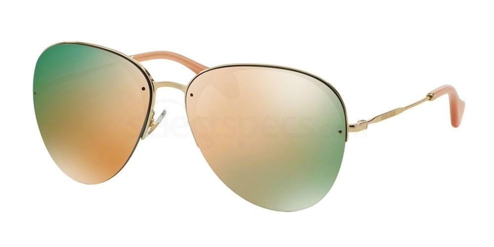 rose gold sunglasses mirror lens designer womens
