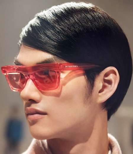 74c4fa332ac7 Burberry Mens Sunglasses (or women s) for Spring Summer picks up on a pixel  theme