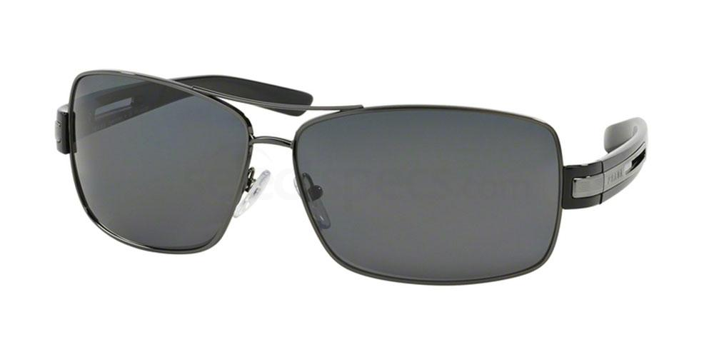 Prada Sunglasses, black squared