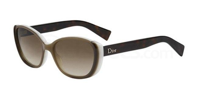 Chetare Zeta Jones sunglasses insp. brown and White Dior