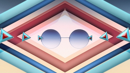 fca9897c063 Fendi s Rainbow Sunglasses Collection Inspired by Kaleidoscopes ...