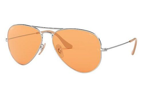 Orange Lens Aviator Sunglasses