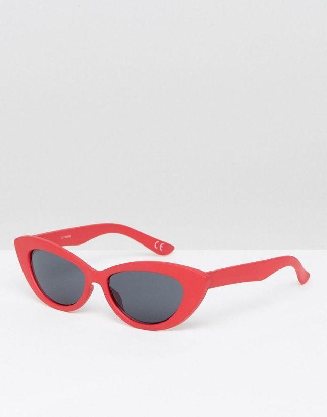 Small Pointy Cat Eye Sunglasses