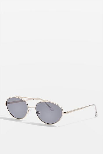 Browbar Oval Sunglasses