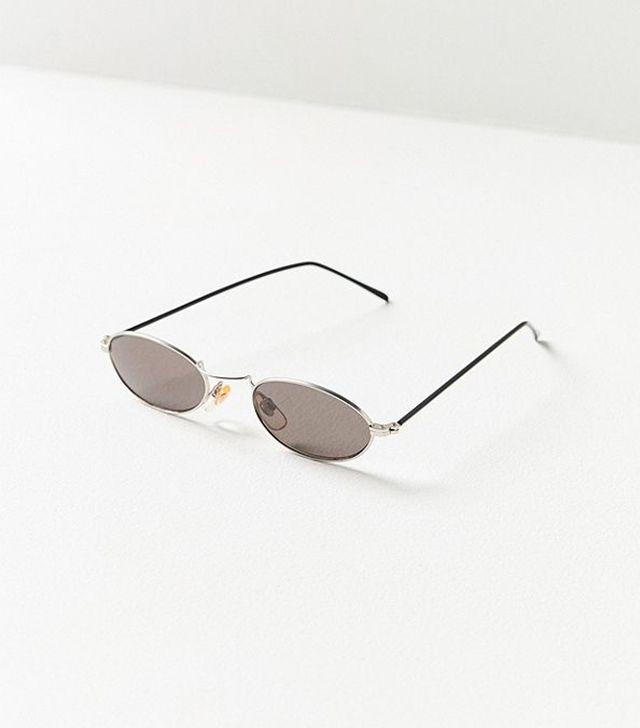 '90s Scene Slim Oval Sunglasses