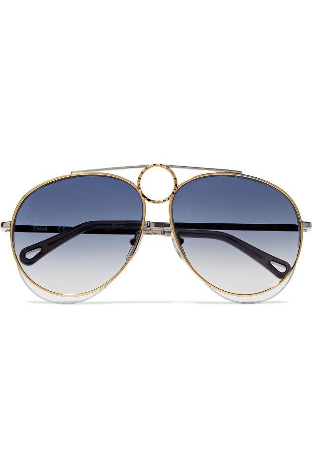 wire sunglasses chloe