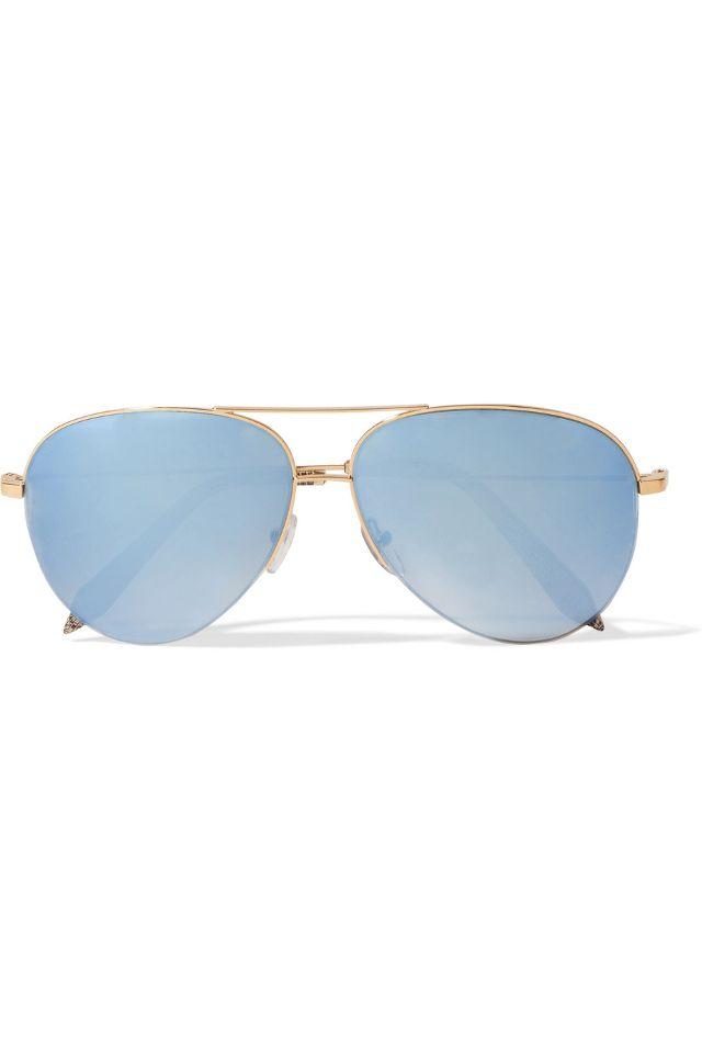 wire sunglasses victoria beckham