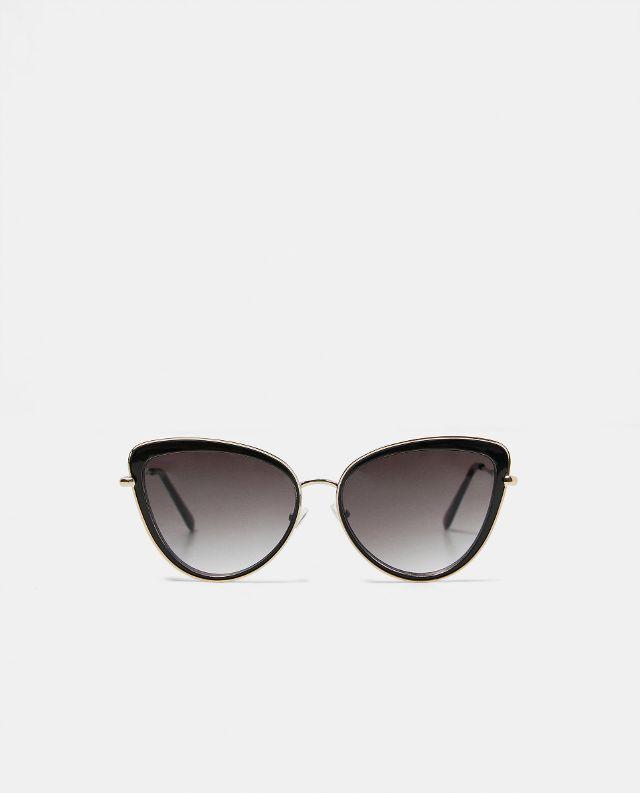 wire sunglasses zara