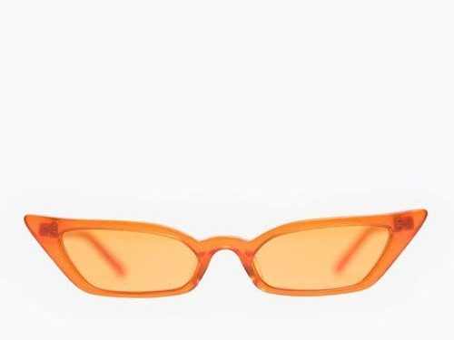 Poppy Lissiman Skiny Orange Lens Sunglasses