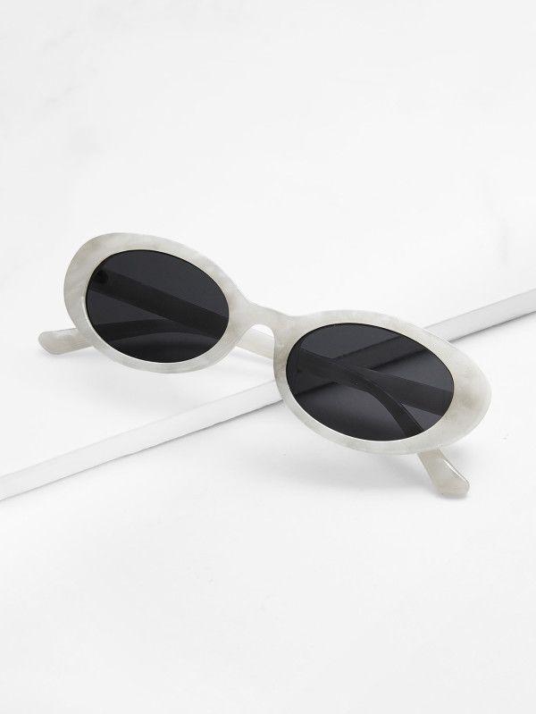 Shein Two Tone Cat Eye Sunglasses